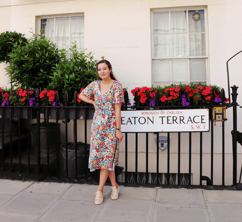 Fancy Brunch & A Floral Dress